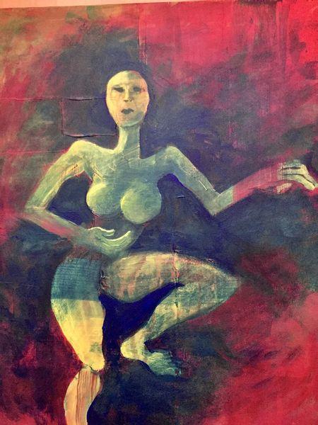 Körper, Gemälde, Fantasie, Acrylmalerei, Erotik, Farben