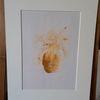 Kreativ, Abstrakte kunst, Zeichenpapier, Blumen vase