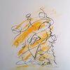 Abstrakte kunst, Kreativ, Gedanken, Zeichnung