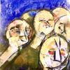 Unklar, Pille, Pastellmalerei, Malerei
