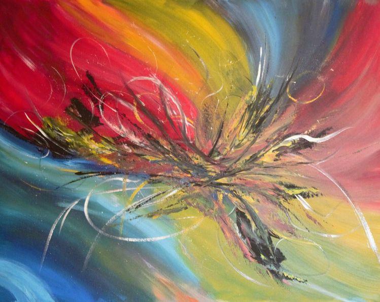 Malerei, Abstrakt, Artdeco