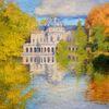 Herbst, Wasser, Landschaft, Impressionismus
